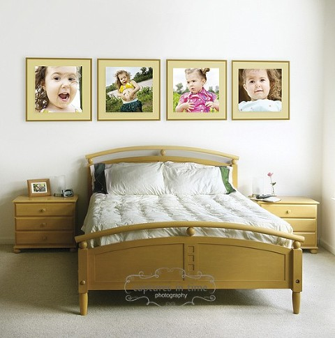 Decorating with Portraits | Captures in Time Photography