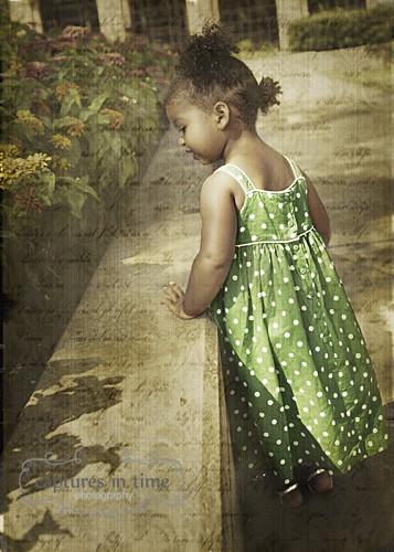 Kansas City Child Photographer Toddler Polka Dots
