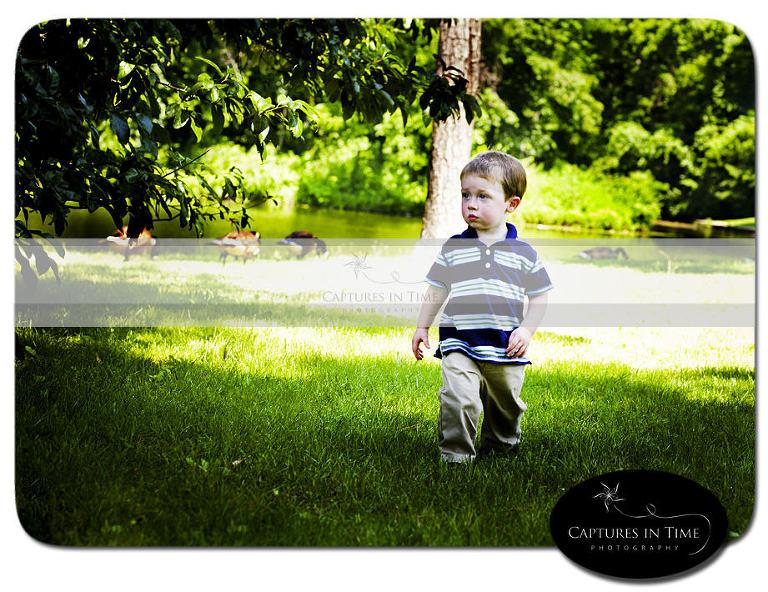 Kansas City Child Photographer A Little Man