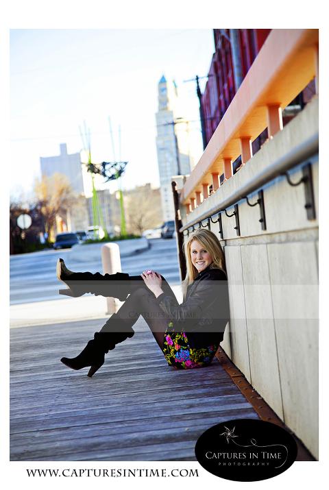 Kansas City Senior Photographer Boots Bridge