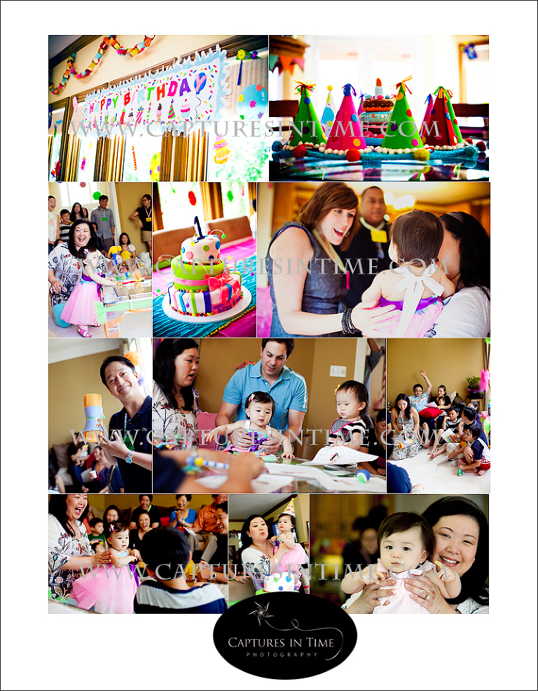 Kansas City | 1st Birthday Party| Captures in Time Photography