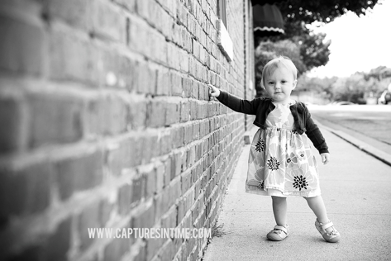 Combination Indoor Studio Baby Session | Captures in Time Photography