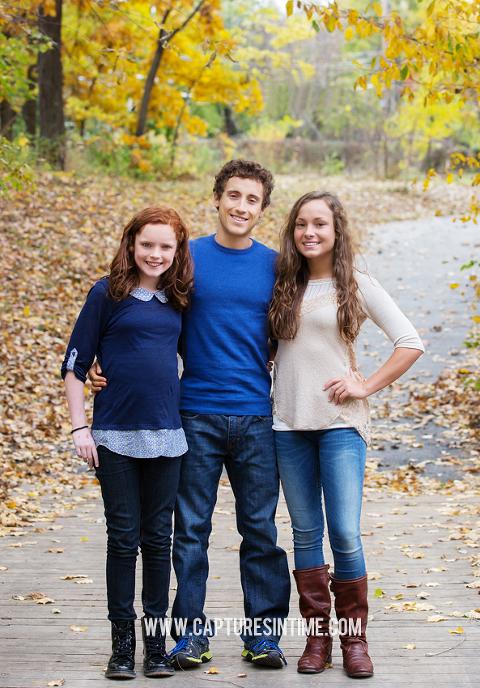 fall family portraits KC