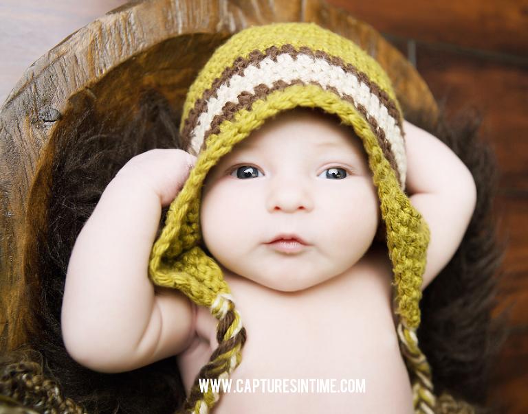 Baby Boy Newborn Photo Session