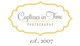 Kansas City Newborn Photographer | Captures in Time Photography logo