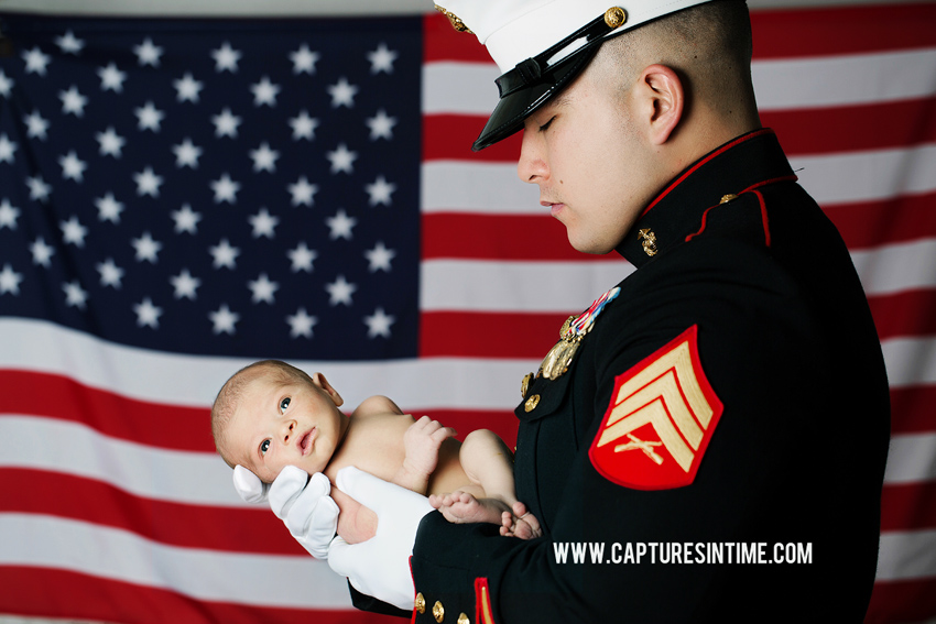 A Military Newborn Session | Kansas City Missouri