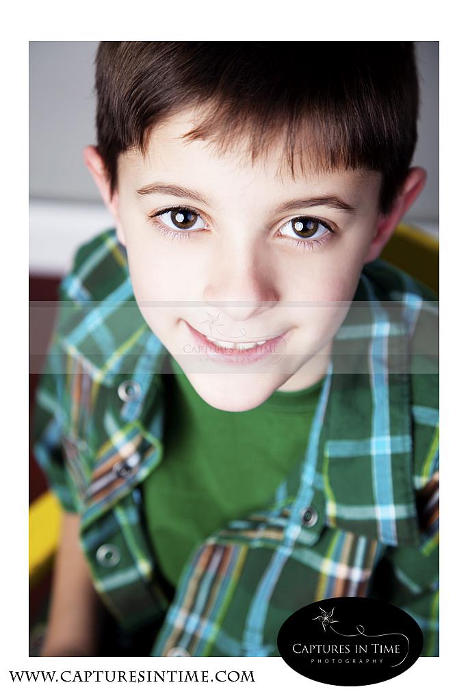 Kansas City Child Photographer Studio Session