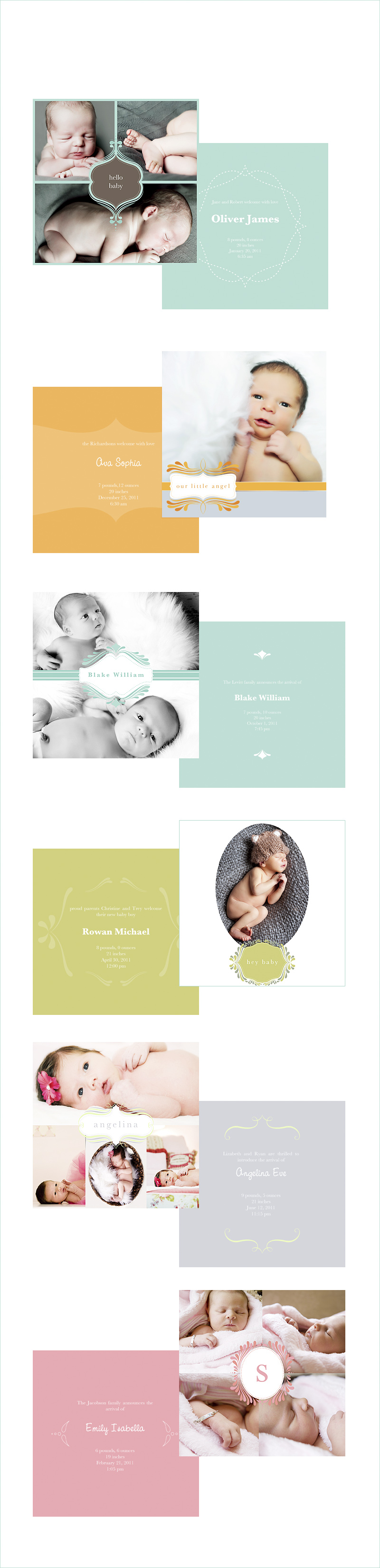 Birth Announcements Kansas City