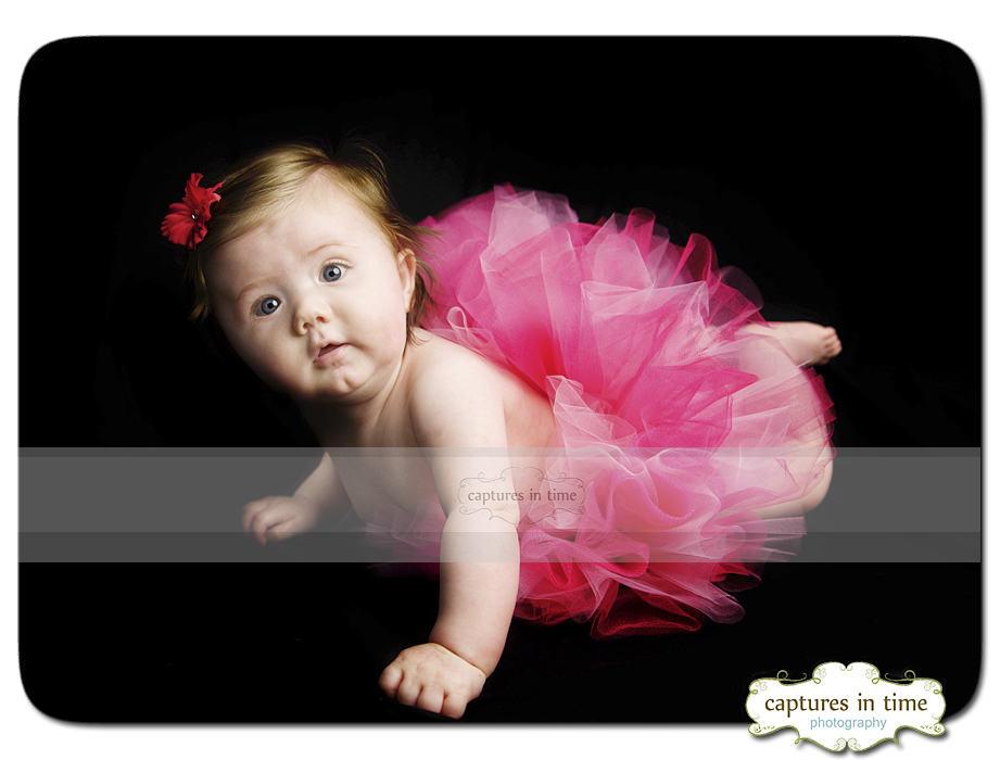 Kansas City Baby Photographer 4 Months Doll Alert
