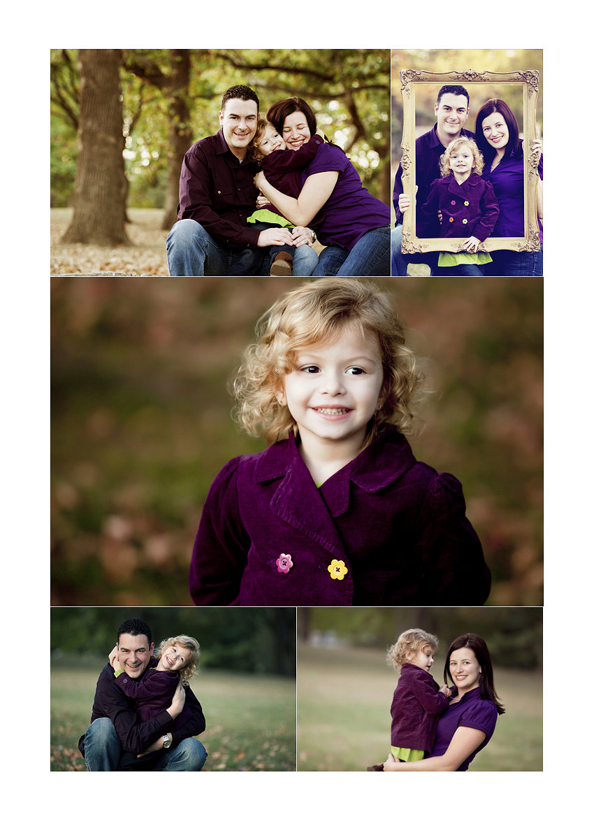 Fall Family Photos with Deep Purple | Loose Park
