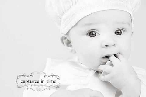 Busy Busy | Baptism Portrait | Captures in Time Photography