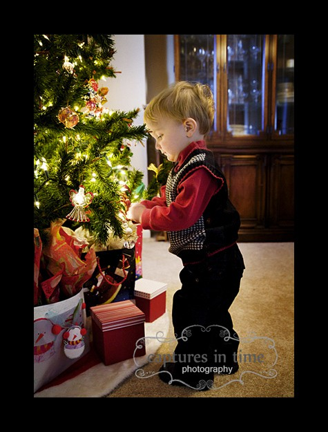 toddler lifestyle christmas session kansas city