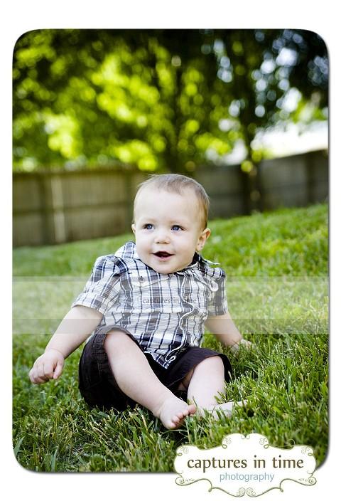 Mr. P is 1 Year Kansas City Child Photographer