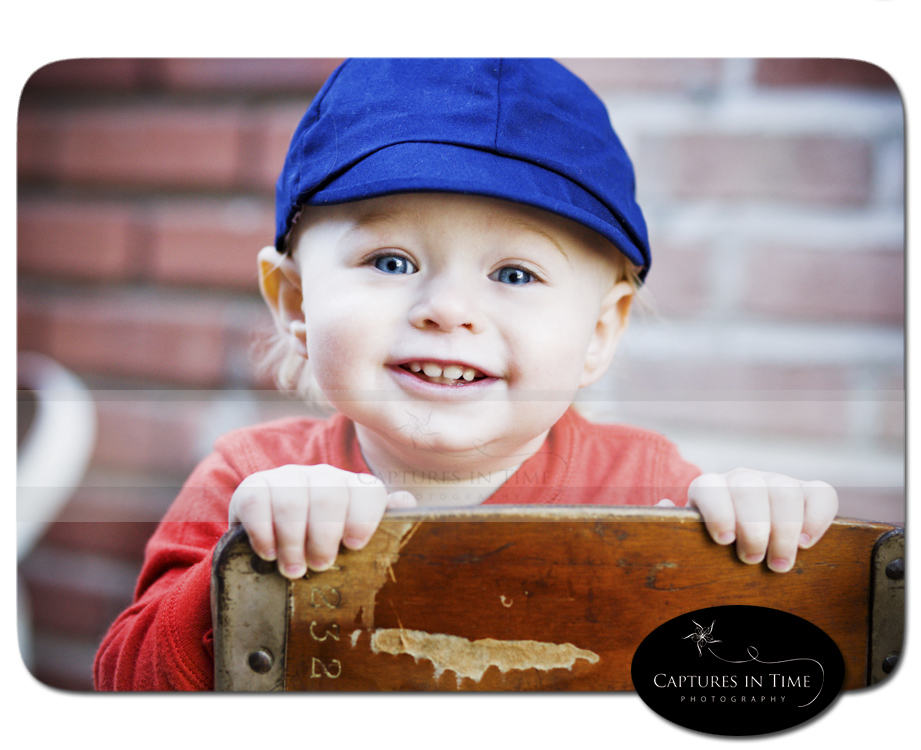 boy in blue hat Kansas City