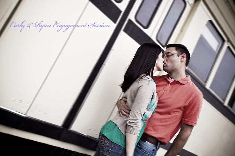 Kansas City Engagement Photographer Union Station