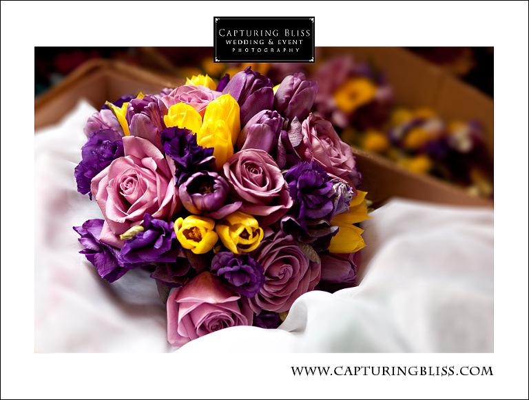bridal bouquet Unity Temple wedding