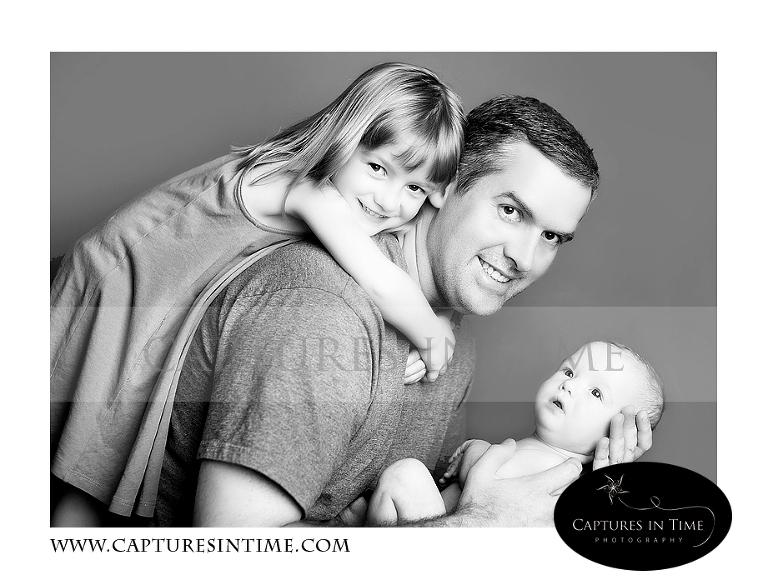 3 Months Kansas City Baby Photographer Feet Dad Sibling