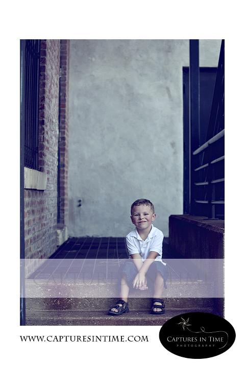 Mr. Noah - 4 Year Photography Session - River Market