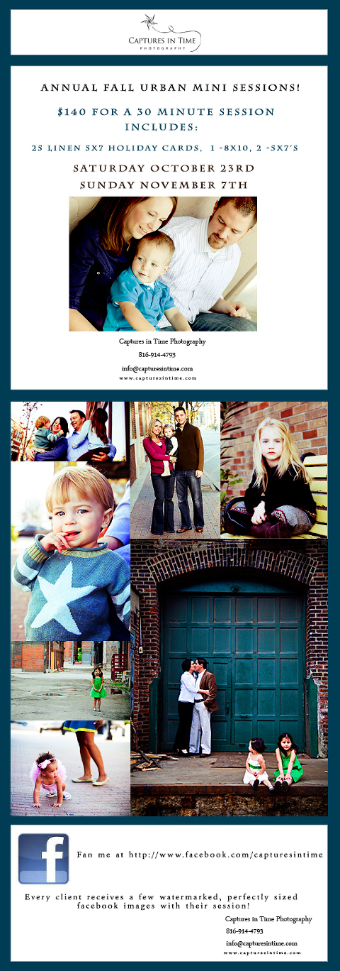 Kansas City Fall Urban Mini Sessions