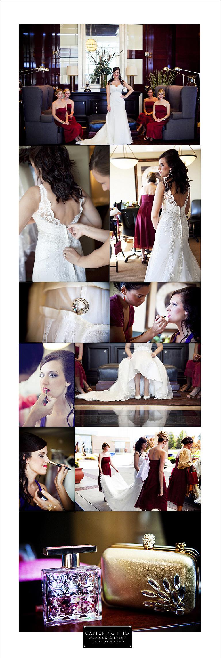 bridesmaids and makeup kansas city