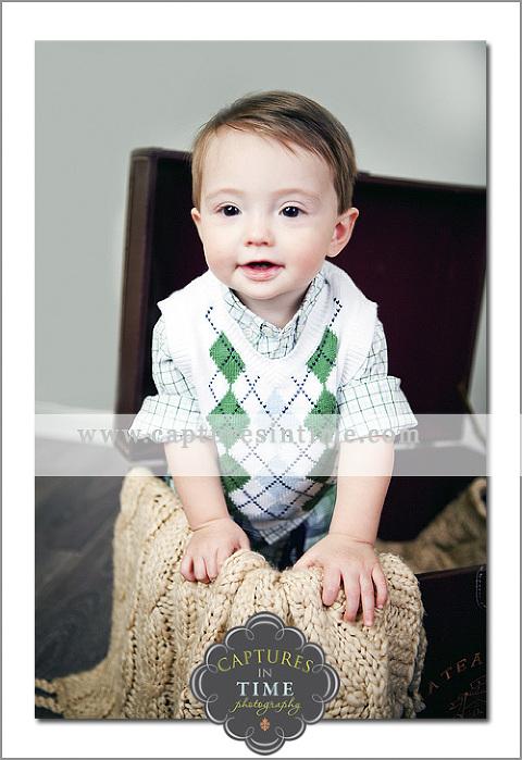 baby boy in argyle sweater Kansas City