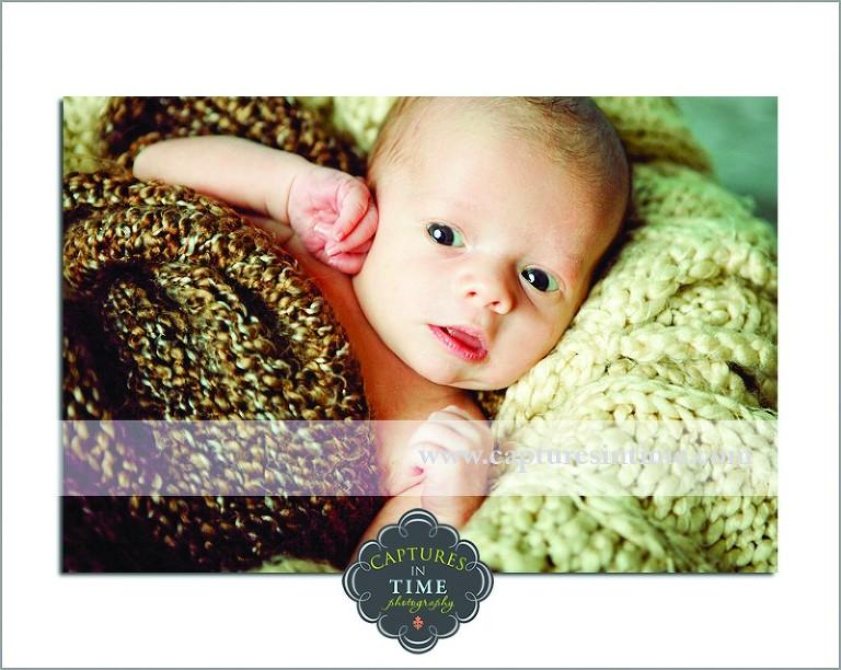 Kansas City Newborn Photographer | Bright Eyes