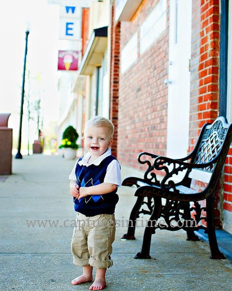Kansas City Baby Photographer Blondie