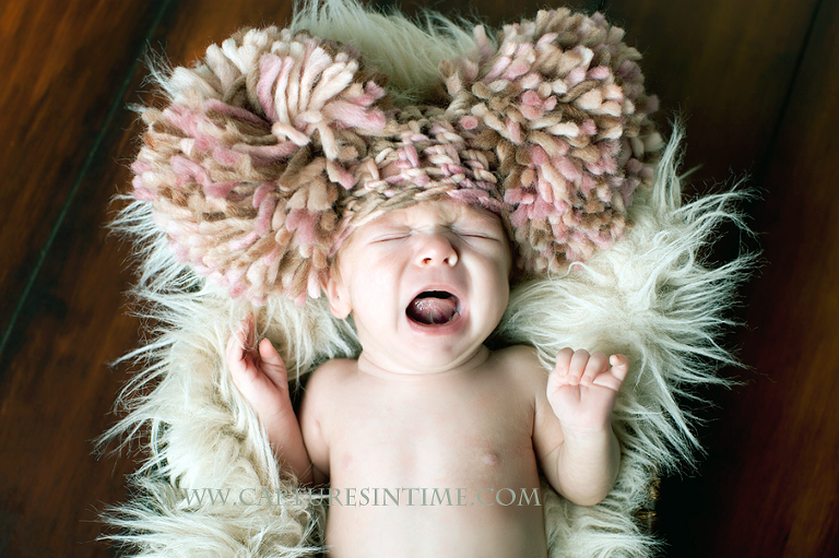 Kansas City Whimsical Newborn Photography Funny Hat
