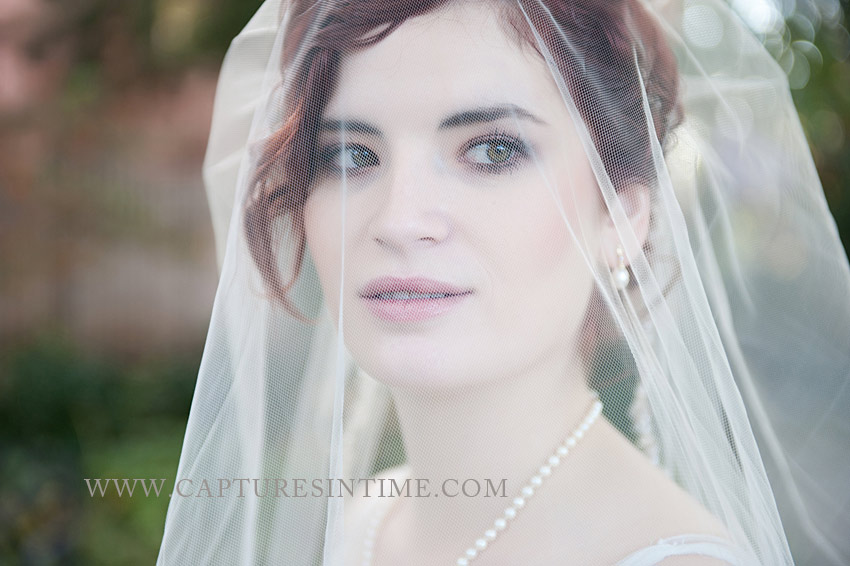 Simpson House Kansas City bride veil