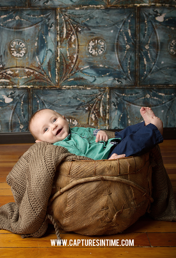 Jude is Four Months Old | Kansas City