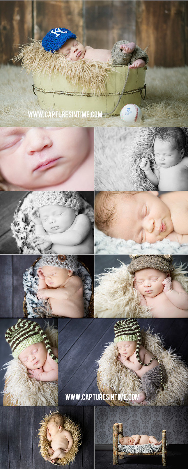 Kansas City Royals Newborn Session