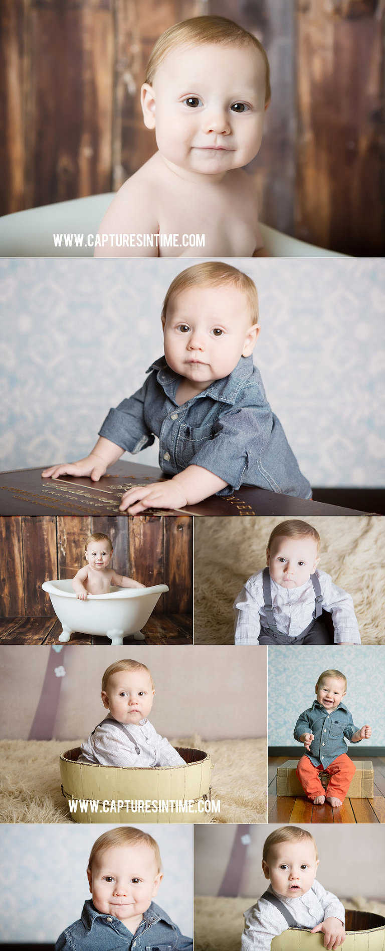 First Year Baby Photo Plan Client Elliot