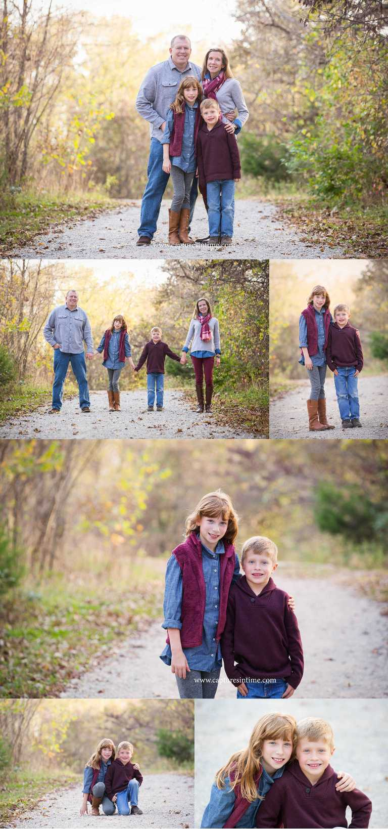 Fall Family Photography at Burr Oaks